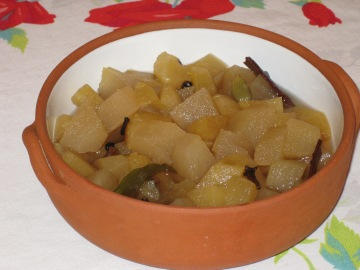 Stewed Apple with Cardamom